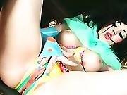 anal,  ass ,  babe,  blowjob,  boob,  brunette,  busty,  butt,  buttfuck,  clown,  costume,  cute,  doll,  fantasy,  fucking,  kinky
