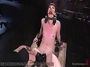 Strict Bondage And Sadistic Flogging