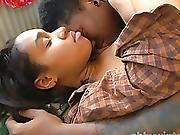 Young Ebony Couple Has Sensual Sex