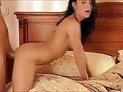 Hot Babe Mindy Gets Fucked Hard And Receives Cum All Over Her Pussy