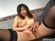 Tender Japanese Babe In A Wild Threesome