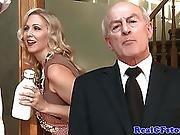 Real Cougar Wife Tasting Jizz