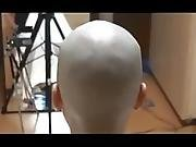 Two Girls Shaved Head
