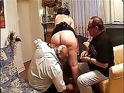 Teen Fucked By 3 Old Mans