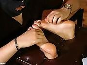 Czech Tickled Feet - Tickled And Oiled Soles By Roxy