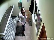 czech,  dress,  hiddencam,  locker,  public,  russian,  spy ,  voyeur