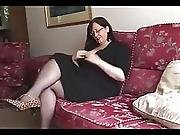 Hot Bbw Mature Shows Great Body