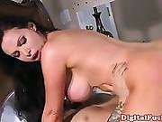 Hugetitted Skank Doggystyle Banged