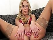 Pjgirls Macro Pussy Exploration Deep Inside Nathaly S Pussy With Speculum