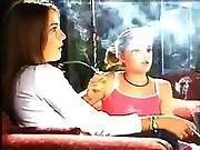 Cute Young Smokers