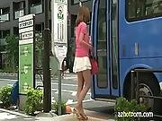 Azhotporn.com - University Student Is Taking A Bus To School