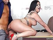 Latin Chick Pounded In Her Moist Muff