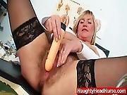 Well Endowed Amateur Mom Irma Got Extremly Shaggy Vagina