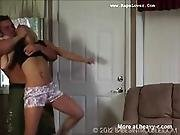 Chelsea Montgomery Hogtied And Abused