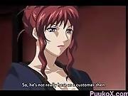 Hentai Slave Girl Sucks Dick From Master