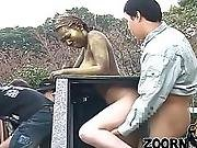 Woman Statue Banged In Public // Public Sex // Realistic Statue // Zoorn :3