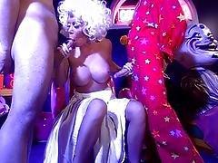 anal,  asian,  big tit,  bitch,  blowjob,  clown,  crazy,  cum ,  double penetration,  fucking,  funny,  heels,  high heels,  masturbation,  oral,  penetration,  sex ,  shaved,  threesome,  vaginal