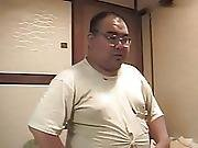Vintage Busty Japanese Teen Fucks Otaku