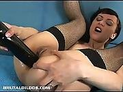 Hot Amber Toys Her Asshole