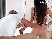 Young model anal fisting