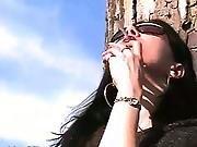 Milf Mina Smoking By The Riverside