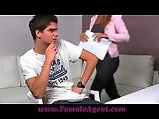 Femaleagent Stud Can T Handle The Pressure To Perform