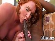 Redhead Dame Has Her Wet Snatch Destroyed