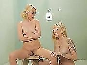 Blonde Lesbians Jana Jordan And Aaliyah Love In Passionate Body And Pussy Massage
