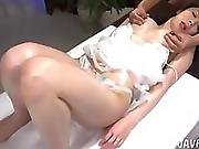 Nice Tits Oil Massage