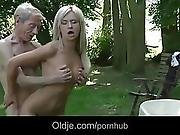 Emaciated Old Man Does Anal 21 Young And Sexy Blonde Teen