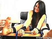 Uk Tickling - Charley Atwell Tickling Feet