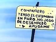 Dirty Cartoon Don Quixote