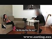 Casting Cute Amateur Wants Porn Career