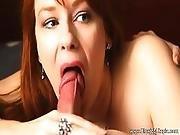 Blowjob In Her Bedroom