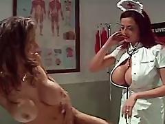 big tit,  enema,  nurse,  rectal exam
