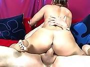 blonde,  cunt,  feet,  fetish,  foot,  hardcore,  lick,  milf