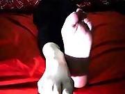 amateur,  fetish,  foot,  socks,  teasing