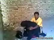 Arabs Caught Fucking Outdoors