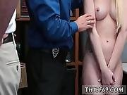Blonde Police Officer First Time Attempted Thieft
