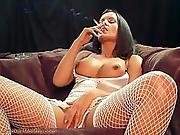 Francesca Taylor Smoking