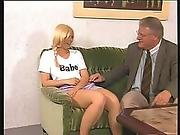 Old Manage Takes Advantage Of A Young Student - Julia Reaves