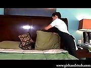 Cute Teen Maid fucked by Jock in a Hotel Room