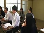 classroom,  ejaculation,  humiliation,  student,  teacher