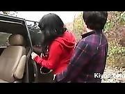 Korean Public Outdoor Sex