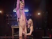 Barbie Dominatrix Punishes Ken Doll