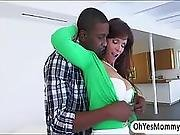 Milf Syren Demer Shares Her Lovers Black Dick With Teen