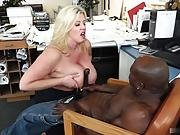 Zoey Andrews Is Usually Banging The Boss This Time Of Day, But Hes