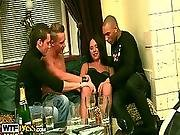 Gangbanged By Three Drunk Men