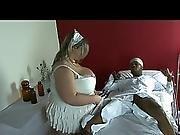 Chubby Blonde Fetish Slut Takes Bbc In Hospital