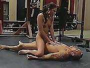 Young Princess Adria Rae Screams While Having Intense Sex With Strong Guy